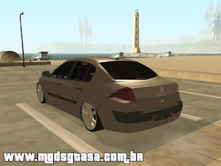 Renault Megane Sedan Edit Fixa para grand theft auto