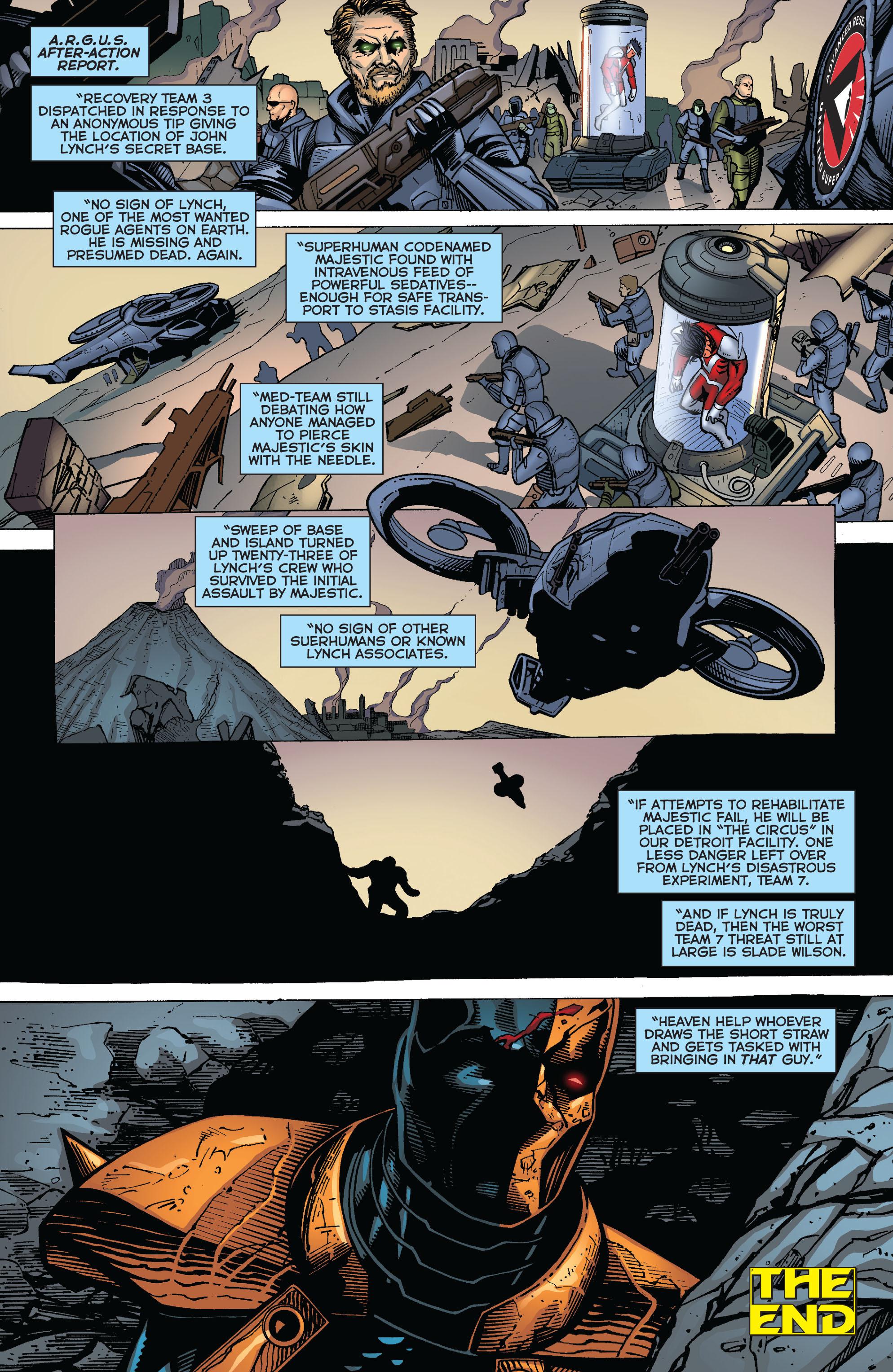 Deathstroke (2011) Issue #20 #21 - English 21