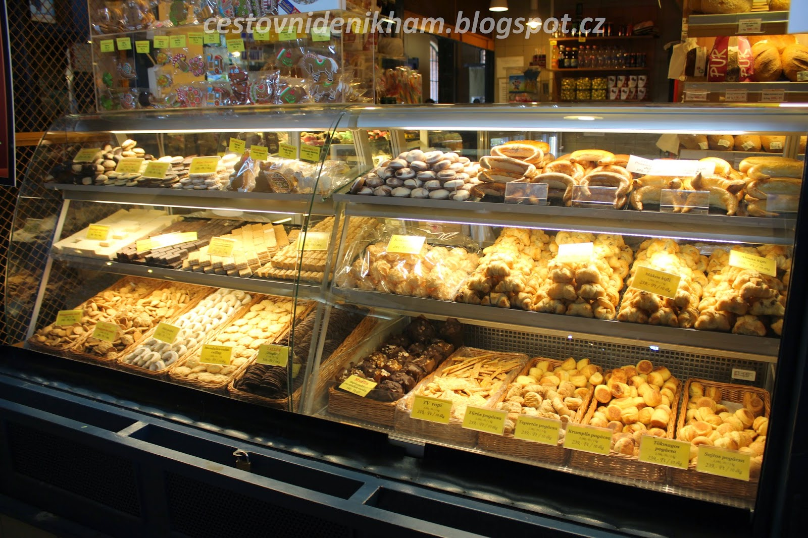 pekárna // bakery shop