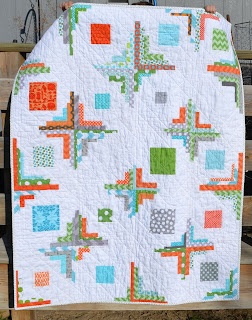 converging corners baby quilt