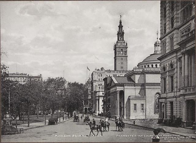 New york history geschichte metropolitan life - History of madison square garden ...