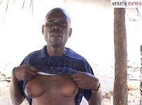 Homem cria seios na Tanzânia Bizzarro