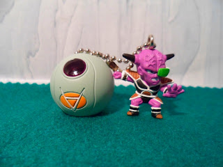 Gashapon Dragon Ball Kai Capsule Collection Ginyu