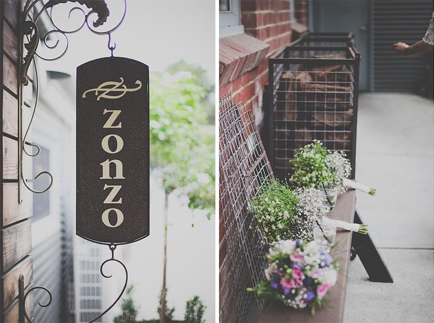 zonzos wedding