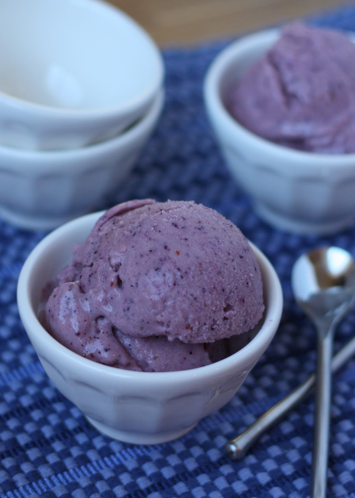 Berry Smoothie Ice Cream recipe by Barefeet In The Kitchen