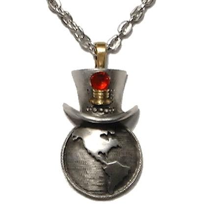 Steampunk World Necklace