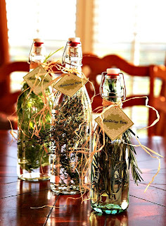 Homemade Herb Vinegar