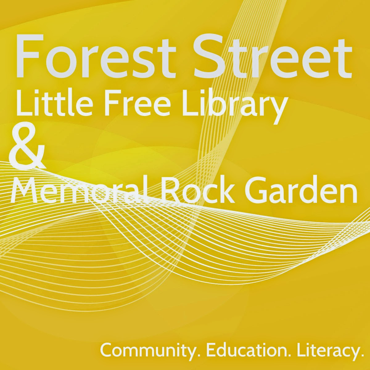 Little Free Library Forest Street Logo