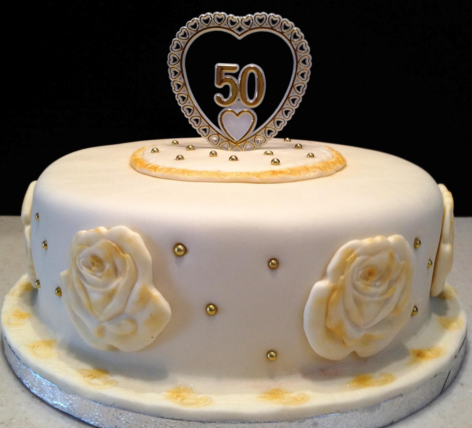 50th Wedding Anniversary Cakes: MaryMel Cakes: 50th Wedding Anniversary
