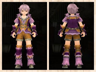 緑竜の衣 紫1+桃2 重量化