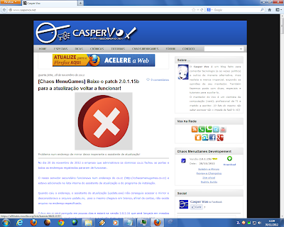 Firefox 18.0b2 no Windows 7