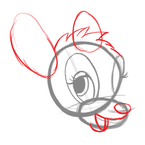 bambi faccial features step 3