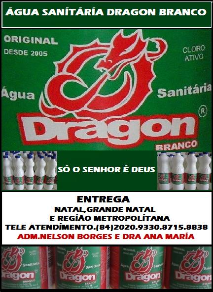 ÁGUA SANITÁRIA DRAGON BRANCO