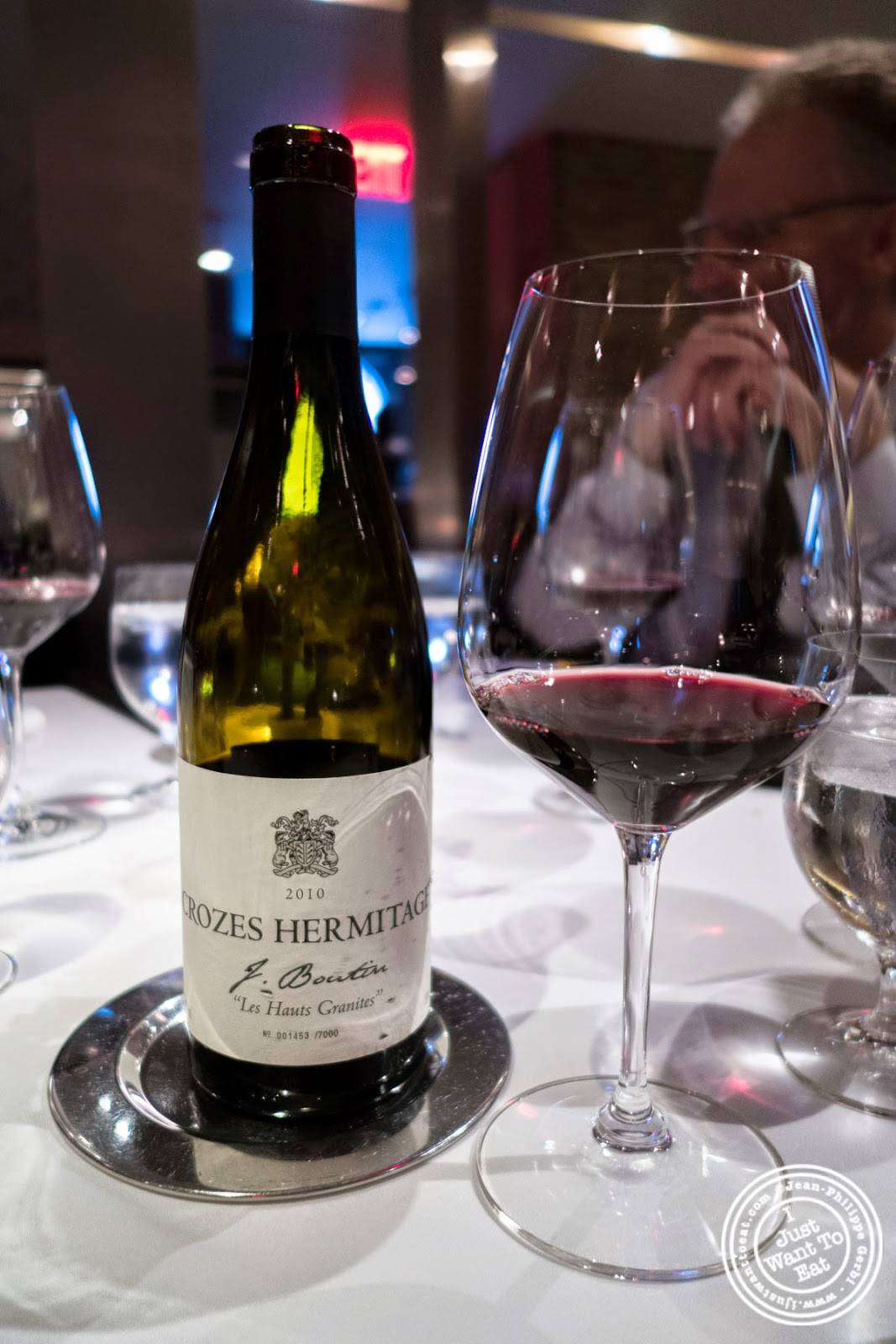 image of Crozes Hermitage wine at Dovetail in New York, NY
