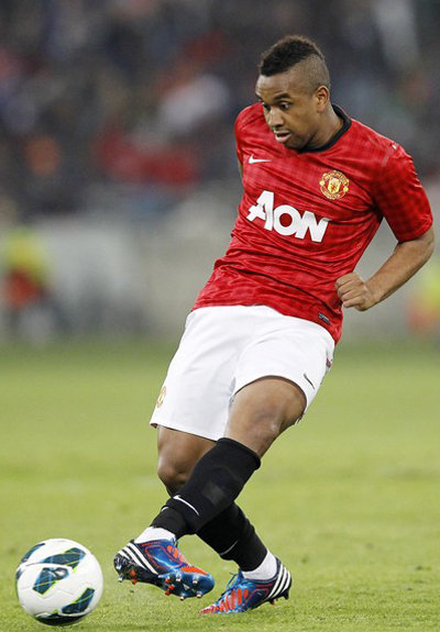 Anderson  Manchester United 2012