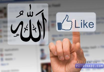 bila agama islam allah dapatkan like facebook