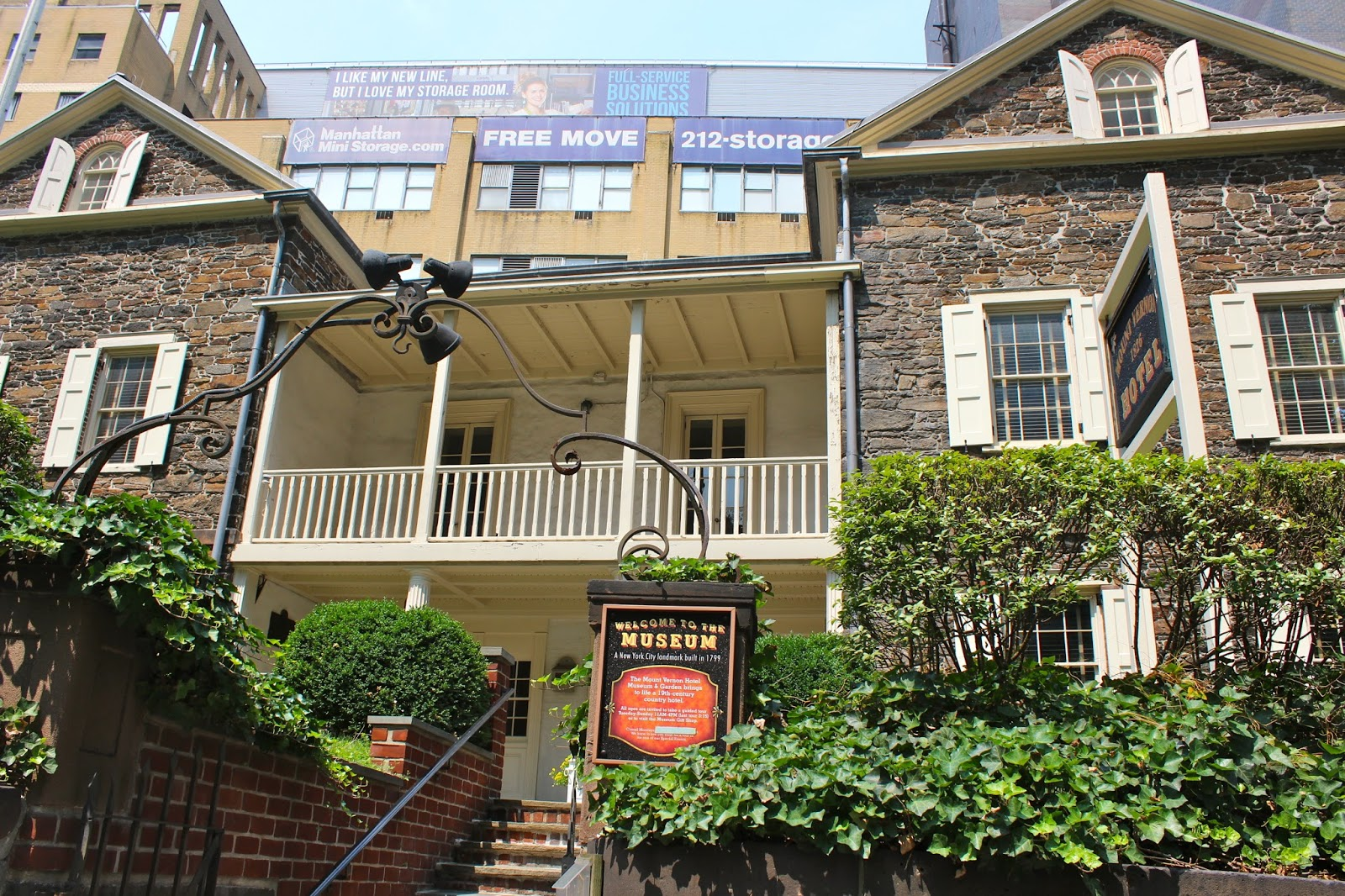 Discover One Of The Oldest Buildings In Manhattan And One Of New York  Cityu0027s Hidden Treasures, The Mount Vernon Hotel Museum And Garden, Located  On The ...