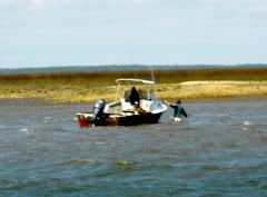 When a small boat runs aground, you can just get out and pull it off!  Not so with YA!