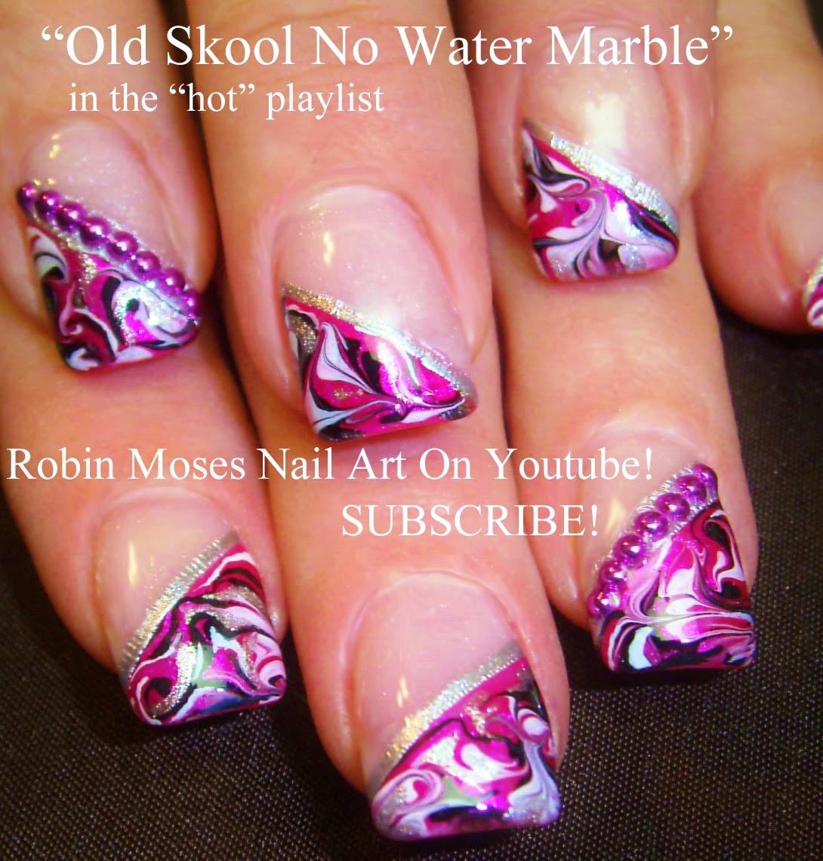 """Robin Moses Nail Art Designs: Robin Moses Nail Art: """"no Water Marble Nails"""" """"marble"""