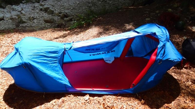 Mammut Lodge Bivy tent & Mammut Lodge Bivy Tent - First Impression