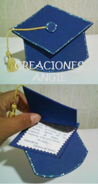 Tarjetas De Invitacion Para Graduacion