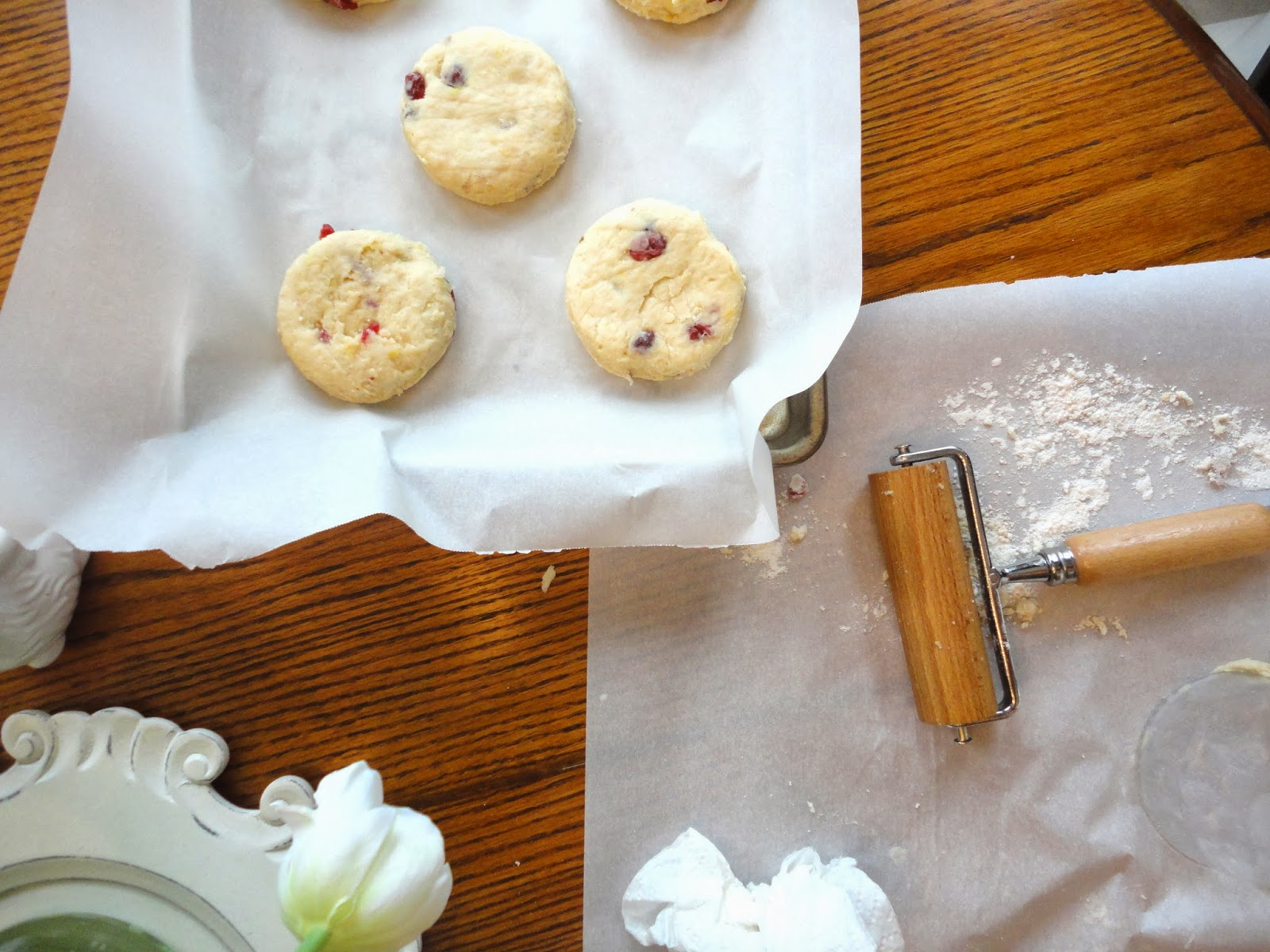 Blissful Baking: Hot Cross Biscuits
