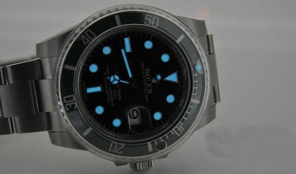 replica rolex submariner green watch