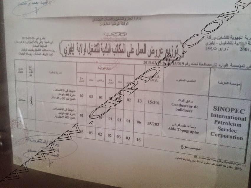 إعلان توظيف Sarl Multi Catering حاسي مسعود بولاية ورقلة