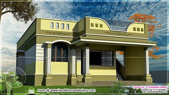 100 square meter one floor house design Newbrough