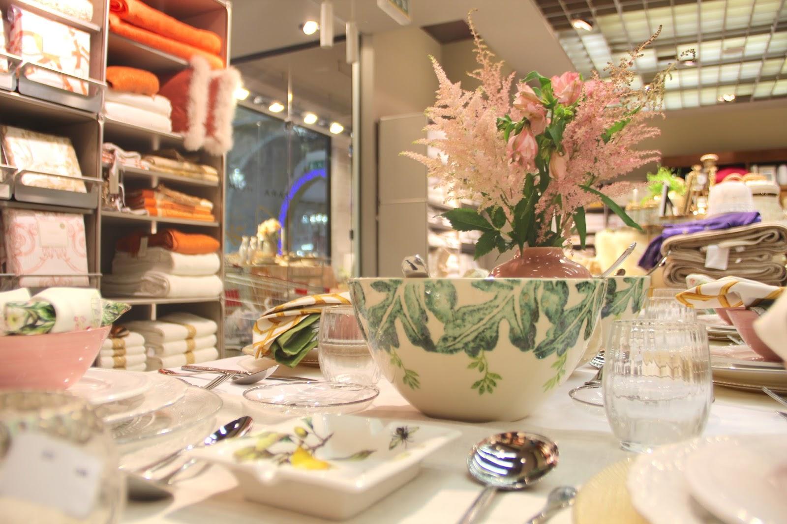 Zara home interior design - White Table Cloth 399 Qar Table Runners 195 Qar Each Yellow Tinted Clear Under Plate 95 Qar Each Beige Ornamented Dinner Dish 30 Qar Each