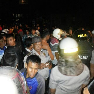 Agar Lebih Kondusif, Polisi Mediasi Tomas Sanggaran Agung dan Pulau Pandan