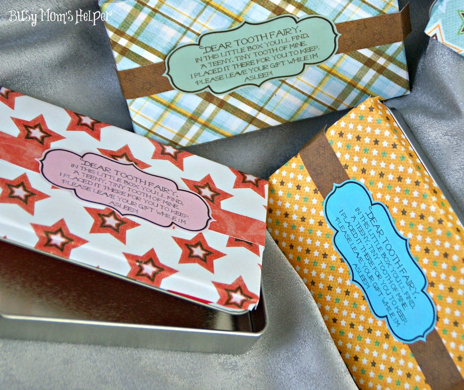 Tooth Fairy Boxes For Kids