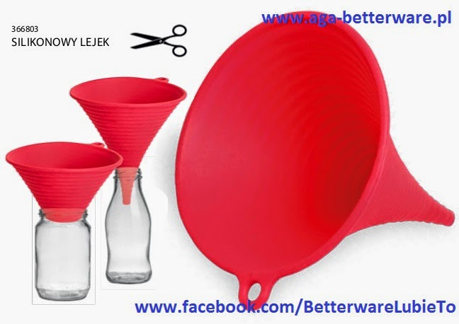 Betterware-Silikonowy Lejek