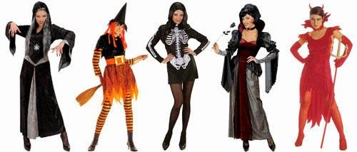 Kvinde halloweenkostumer