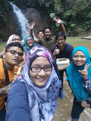 air terjun jeriau waterfall