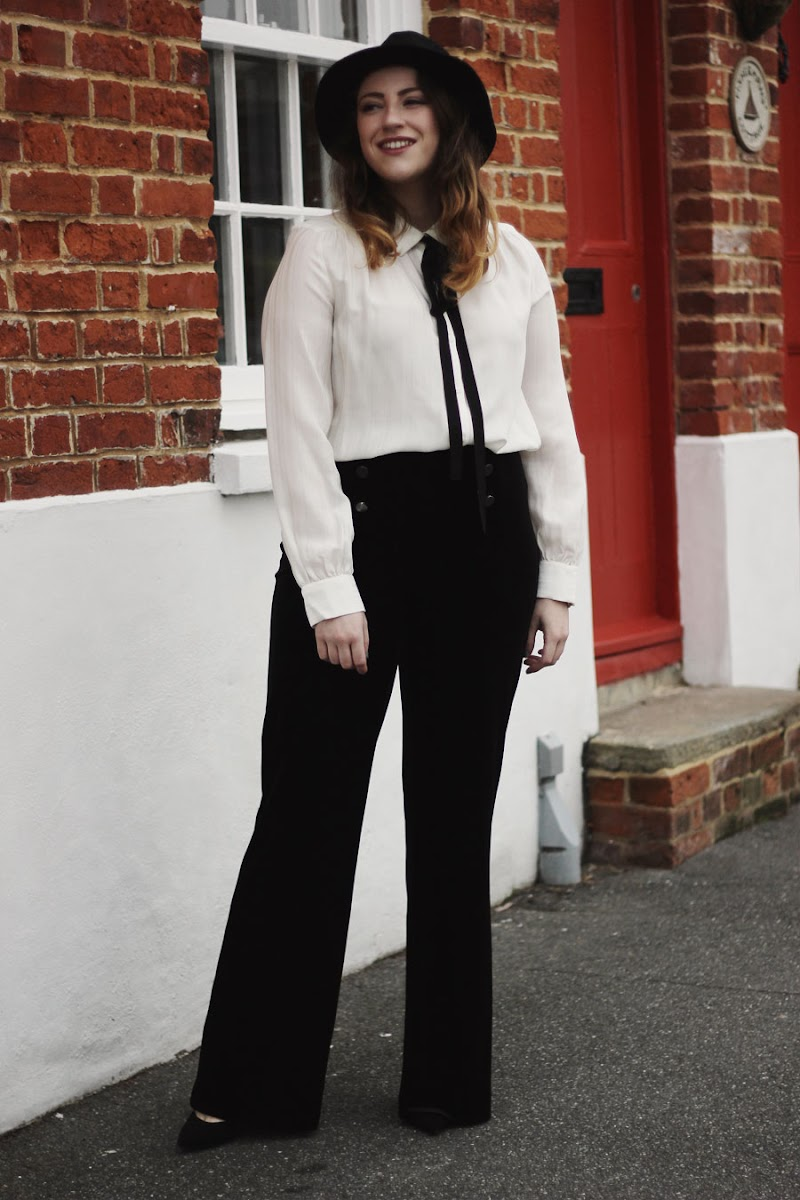 seventies outfit petite blogger