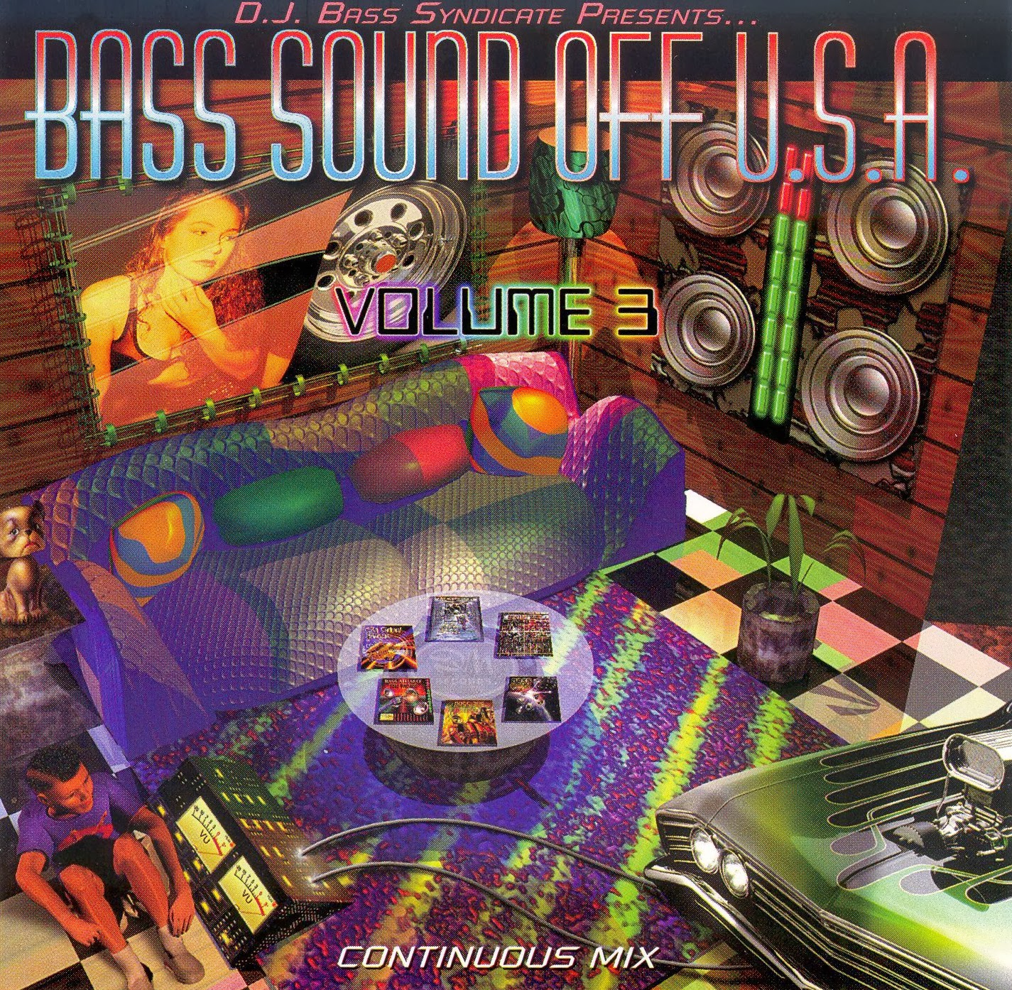 Dj Bass Syndicate Presents Bass Sound Off U.S.A. Vol. call of duty waw mult
