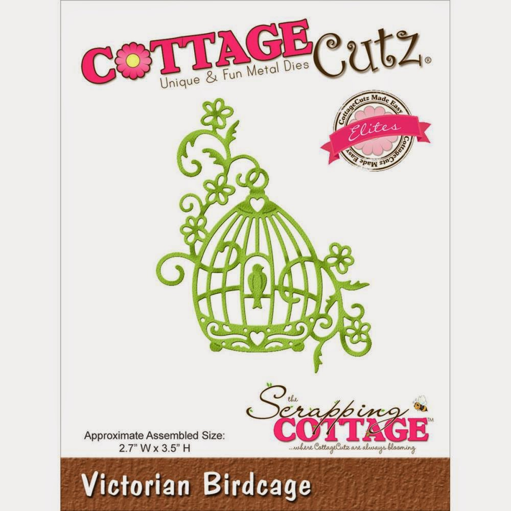 Victorian Birdcage die from COTTAGECUTZ