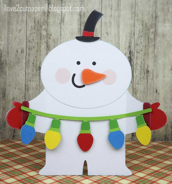Snowman, Christmas Lights Garland, ilove2cutpaper, LD, Lettering Delights, Pazzles, Pazzles Inspiration, Pazzles Inspiration Vue, Inspiration Vue, Print and Cut, svg, cutting files, templates,