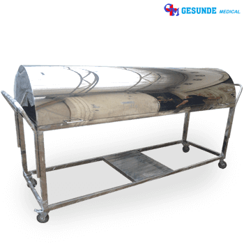 Mortuary Carriage Stainless Steel