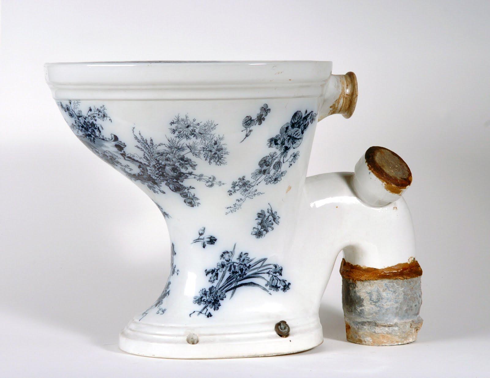Toiletpot van Koningin Wilhelmina