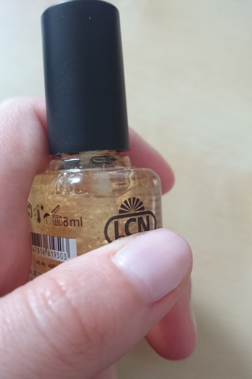 LCN Nail Care Pure Gold Nail Power