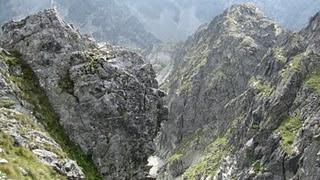 Widok z Wrot Chałubińskiego