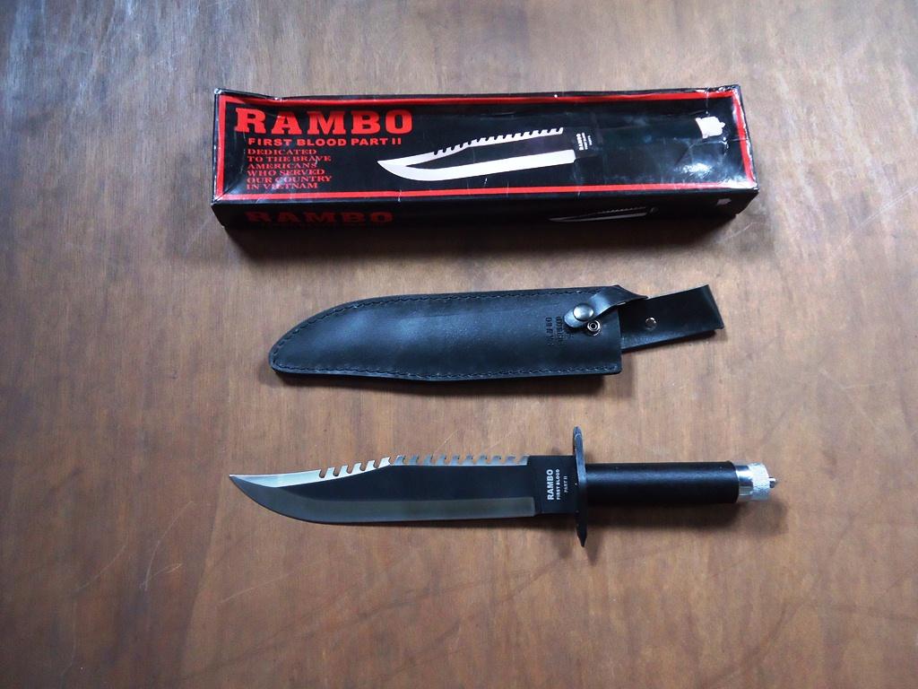 Jual Aneka Pisau Online: Pisau Rambo