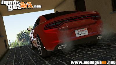 V - Dodge Charger RT 2015 para GTA V PC