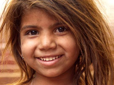 child smiling photo