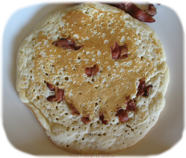 Good Morning Smile Smiling Pancake Beacon Happy Breakfast Day