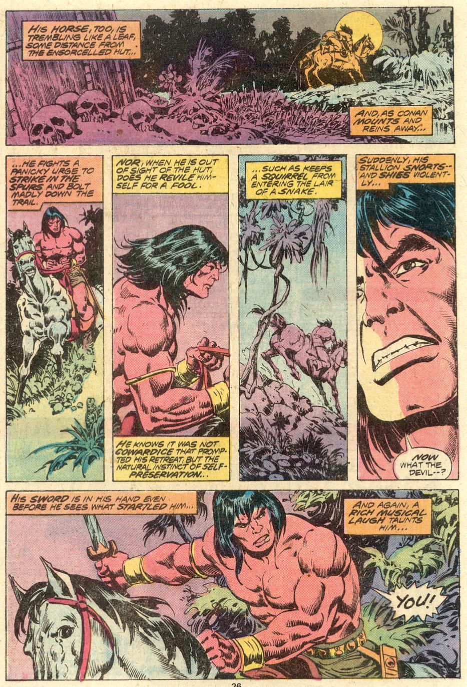 Conan the Barbarian (1970) Issue #82 #94 - English 17