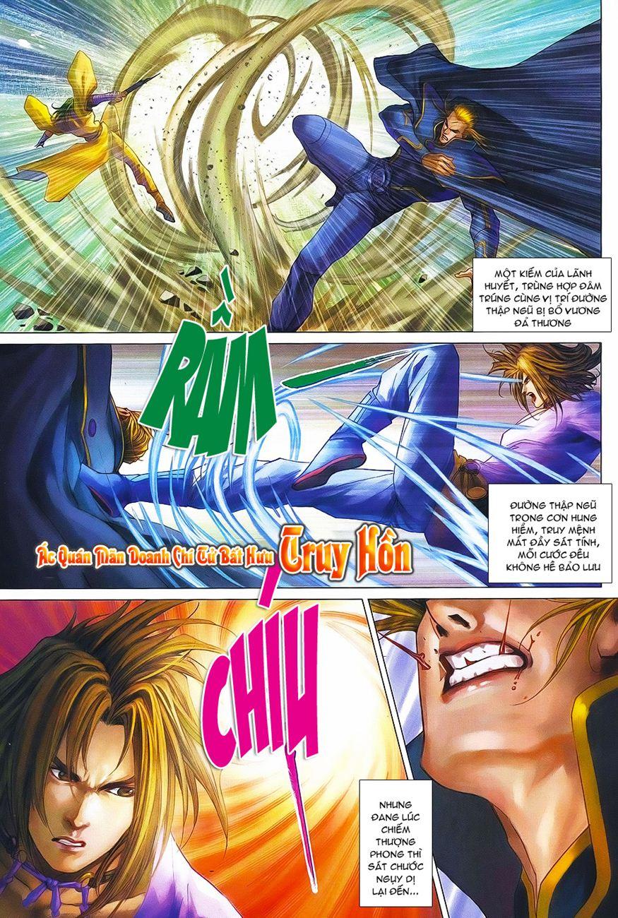 Tứ Đại Danh Bổ chap 371 – End Trang 11 - Mangak.info