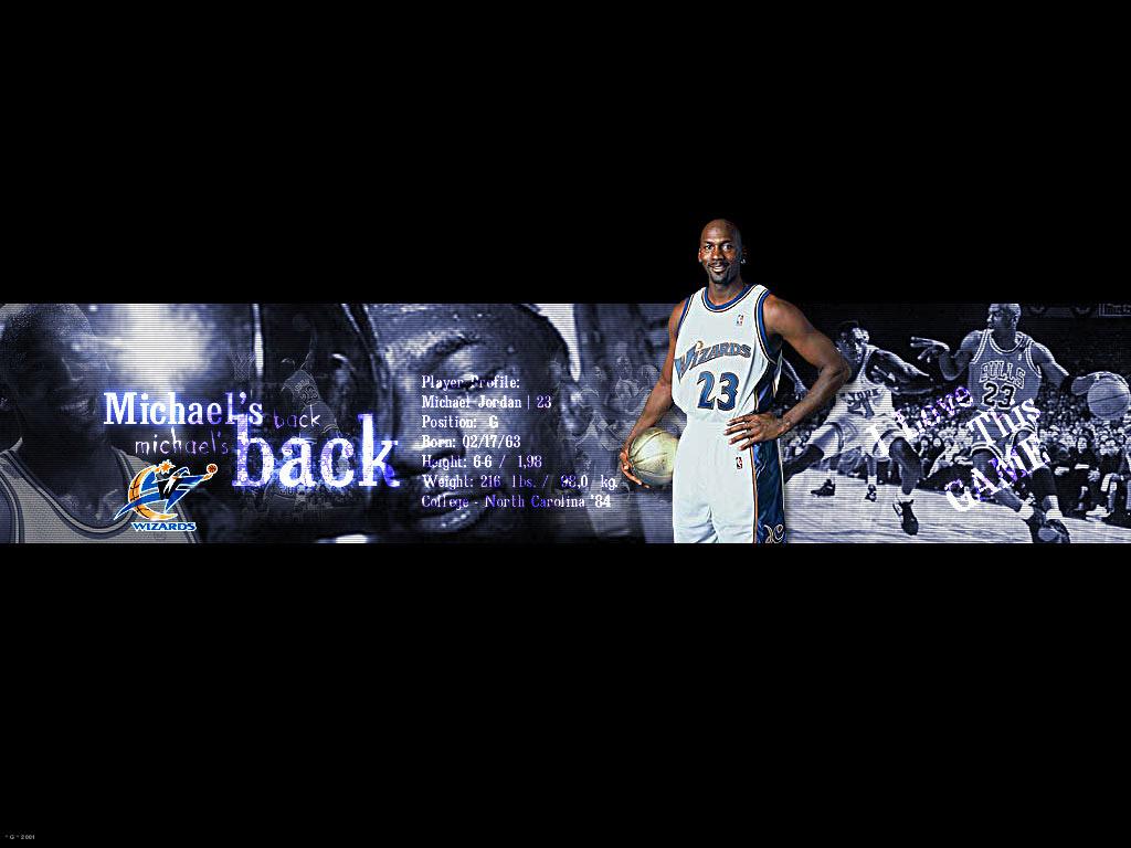 Michael Jordan Washington Wizards